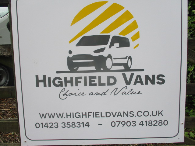 Highfield Vans Quality Vans Cars And Suvs In The Heart Of Yorkshire